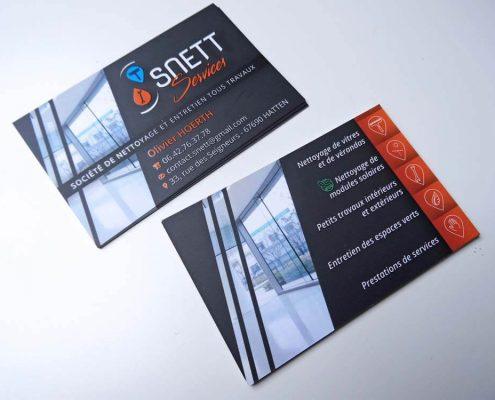 Cartes De Visite SNETT Services