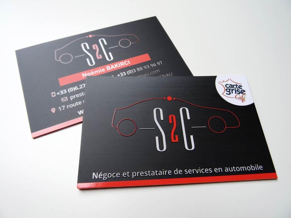 Cartes De Visite S2C Haguenau