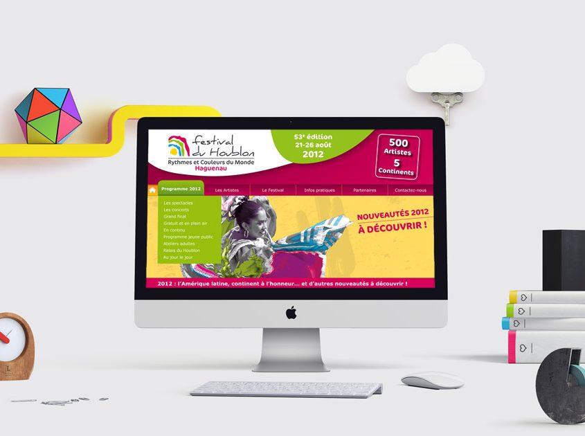 Site Web Du Festival Du Houblon à Haguenau Création De Site